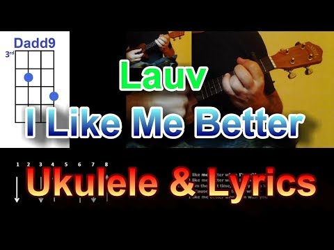 Lauv   I Like Me Better Ukulele
