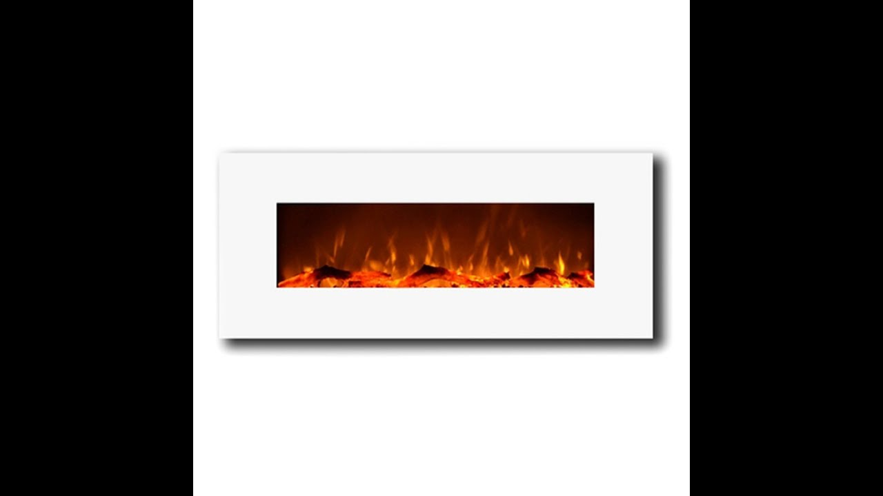http://cozybythefire.com/white-electric-fireplace-review/ The Moda Flame Houston electric fireplace has a distinct style that will blend in with most home an...