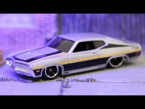 Hot Wheels '70 Ford Torino - Detroit Muscle Series (2018) 6/6