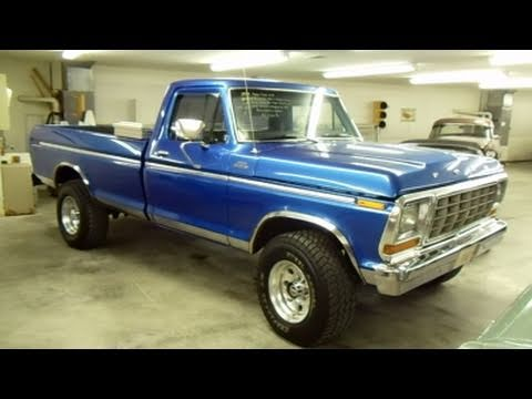 1972 Ford F250 4x4 For Sale >> 1979 Ford F250 4x4 Custom Lifted Pick-up - Very Nicely Restored - YouTube
