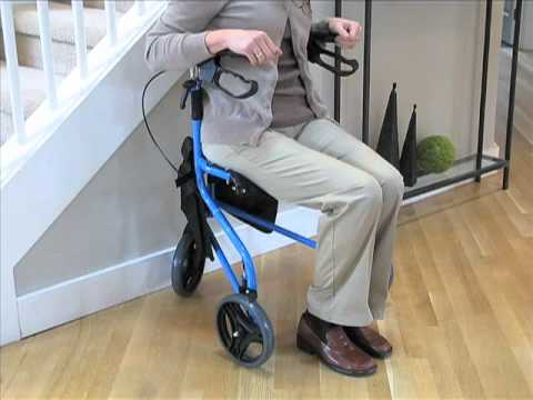 Flight 3-Wheel Rollator  |  Goldviolin.com