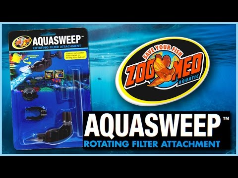 Zoo Med AquaSweep™ Rotating Filter Attachment