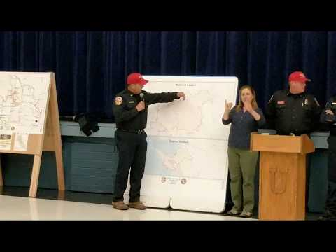 10/13/2017 Ukiah Press Conference Mendo Lake Fire