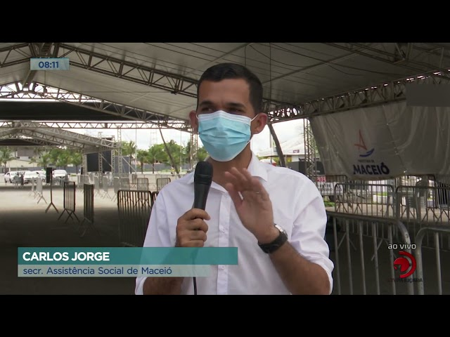 Vacinação solidária: Pontos de vacinação de Maceió também arrecadam brinquedos para crianças