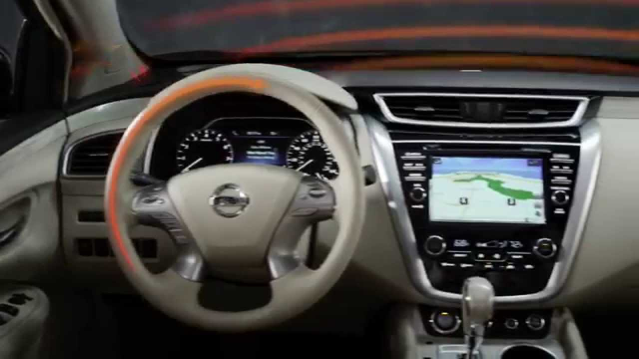 2015 Nissan Murano Interior Sunridge Nissan Youtube