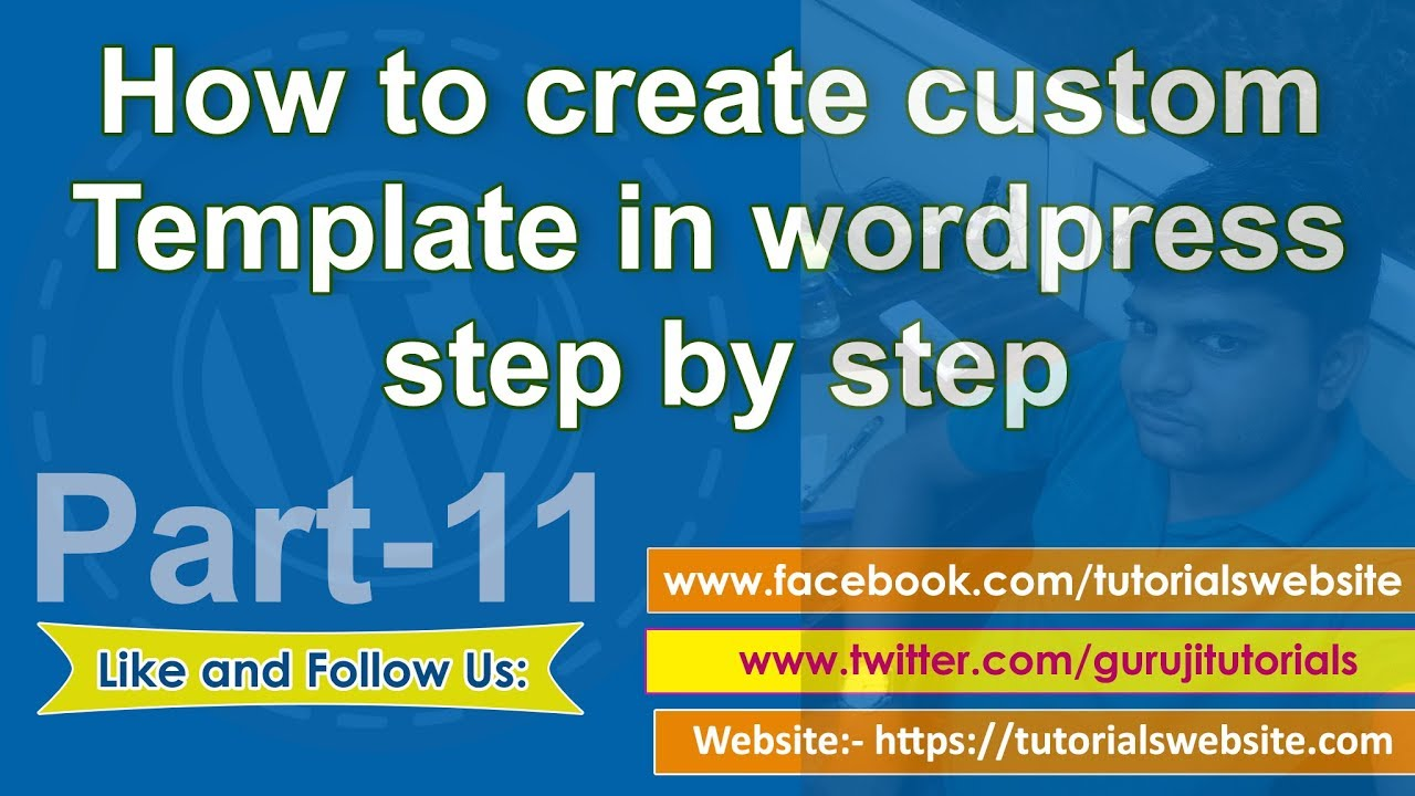 Wordpress tutorial in hindi step by step- Part-11: How to create ...