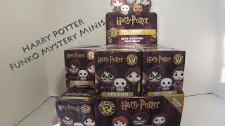 harry potter funko mystery minis unboxing with hot topic exclusives