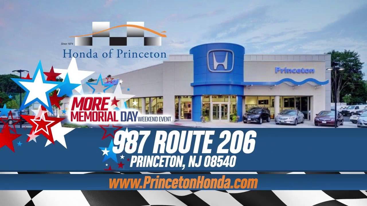 Honda Of Princeton >> Honda Of Princeton Memorial Day Extended Hours May 2016