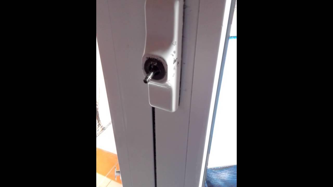 Cambiar manilla ventana sin acceso a mecanismo - YouTube