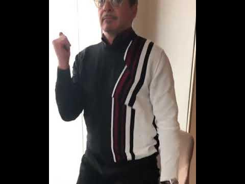 Louie Cruz - Robert Downey Jr. Dances To Earth, Wind & Fire