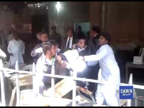 Fight in Lahore High Court