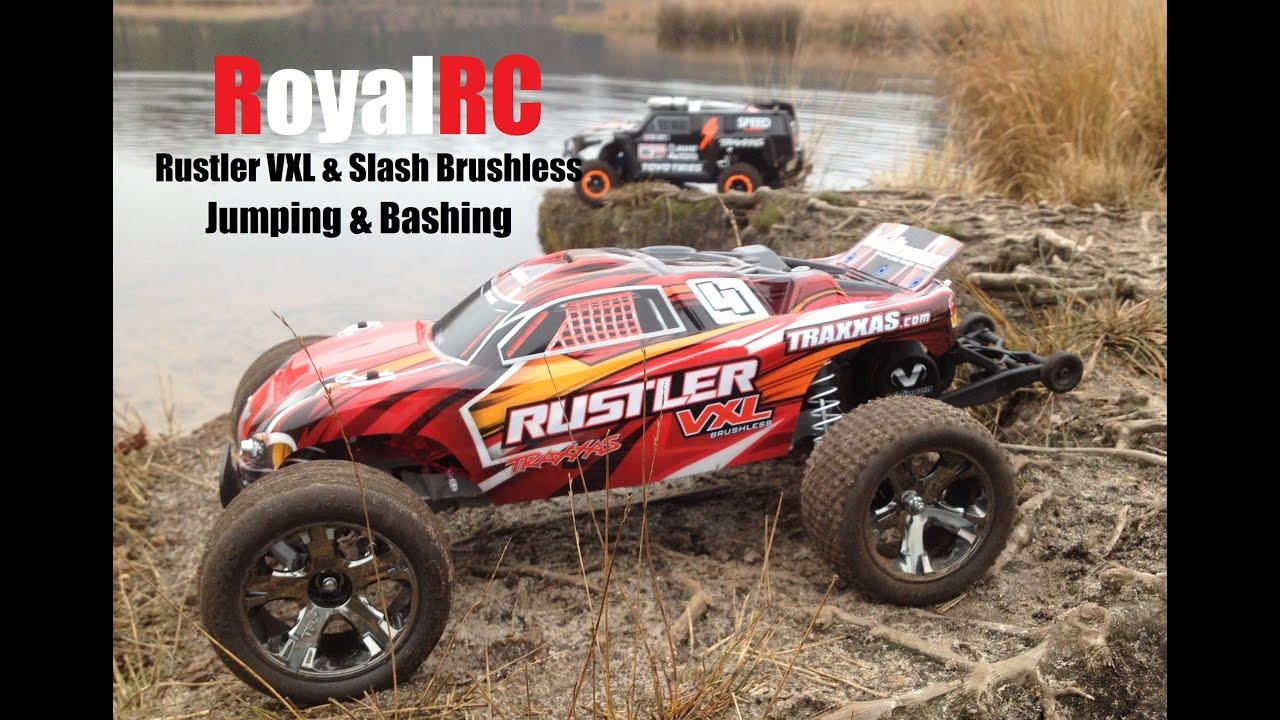 RC Montage Traxxas Rustler VXL & Traxxas Slash Brushless 2S LiPo