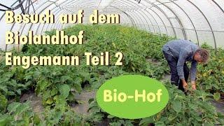 Besuch auf dem Bioland Hof Engemann Teil 2 -Champignon Zucht-Kompostierung