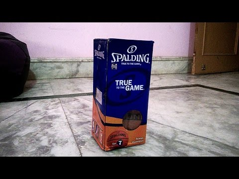 Spalding NBA Rebound Basketball Unboxing & Review