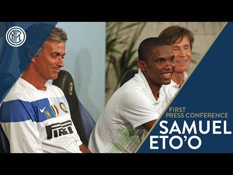 Samuel Eto'o: presentazione del 28/07/2009
