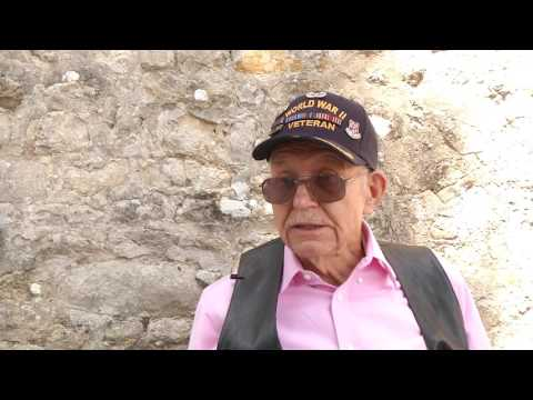 DDay73: D-Day Veteran George K. Mullins returns to Normandy B-Roll Part 1/4
