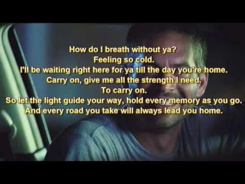 Charlie Puth - See You Again (Without Wiz Khalifa) [lyrics]