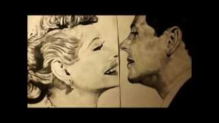 Lucy and Ricky (desi) Charcoal Drawing