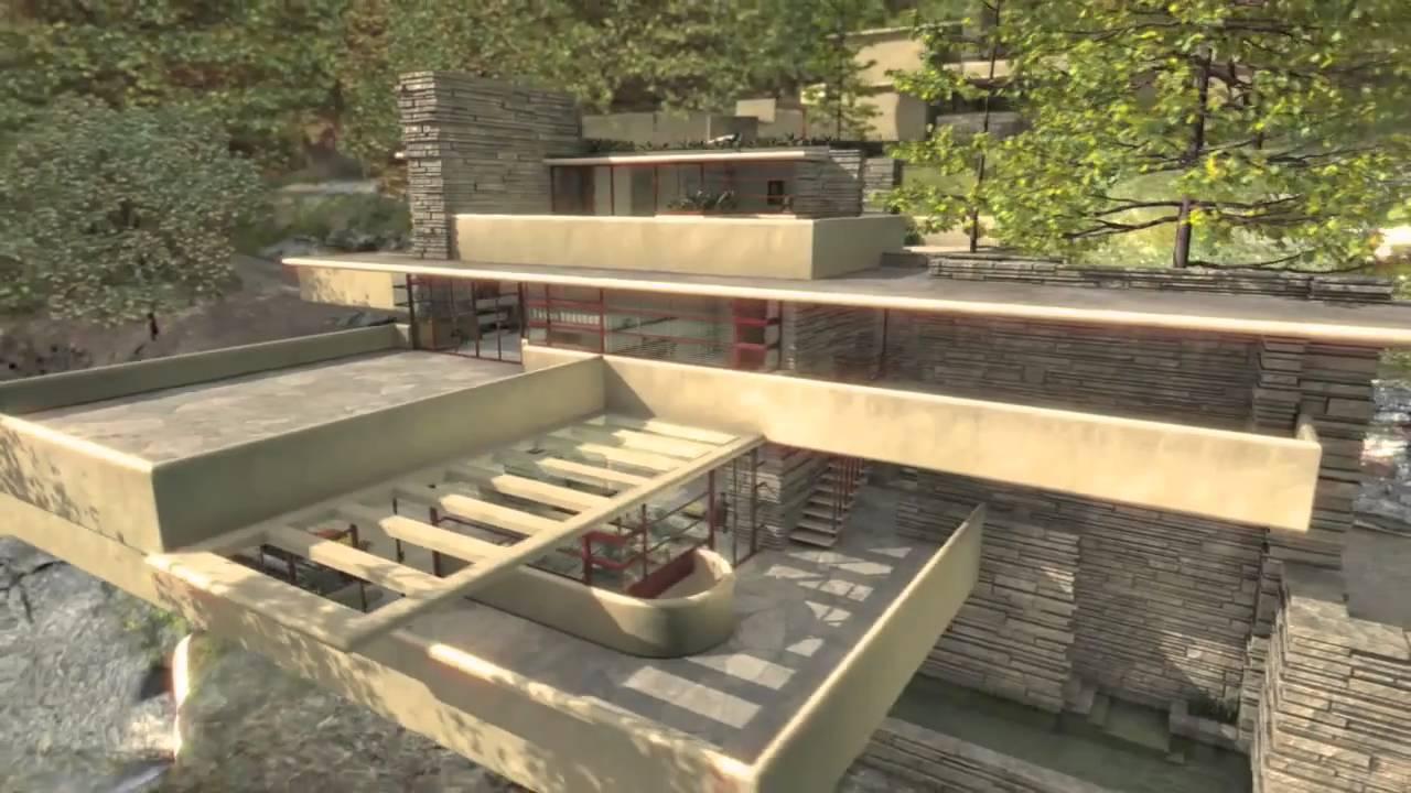 Watch on Frank Lloyd Wright Falling Water House Plans