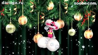 Прикольные поздравления с Новым годом новогодние видео добрые красивые пожелания
