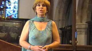 "Vaughn Williams - ""Linden Lea"" -sung by Susan Welland, Eunice Pike plays the piano"