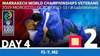 World Championships Veterans 2019: Day 4 - Tatami 2
