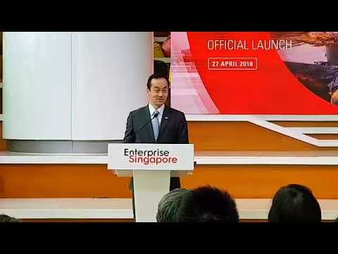 SMS Koh Poh Koon mentions Bountie in Global Innovation Alliance Speech