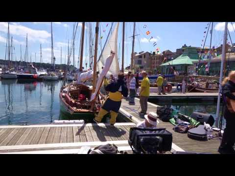 Sutton Harbour Plymouth. Classic Boat Rally 24th 27th July 2015  Part 2