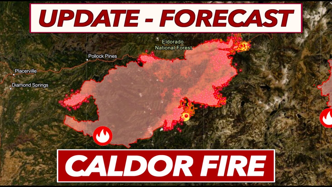 'This is just a monster': Caldor Fire approaches South Lake Tahoe