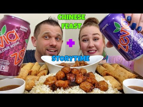 MUKBANG | CHINESE FEAST + STORYTIME (OUR 1ST CHINESE FEAST)