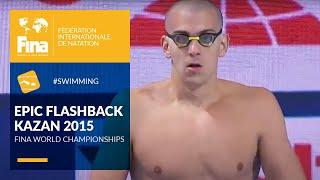 László Cseh's Golden Moment | Kazan 2015 | FINA World Championships