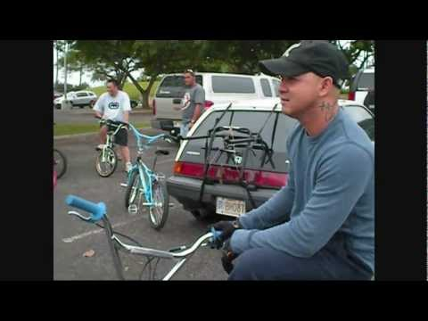 Old School BMX Flatland Freestyle - Ala Moana, Hawaii - 03-05-11