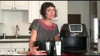 ZenChef PRO XXL Hot Air Fryer Family|Kitchen Products