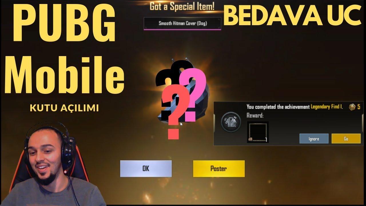 1080 UC Değerinde Sandık Açtım - PUBG Mobile - BEDAVA UC PUBG Mobile 2019 Ücretsiz Free UC