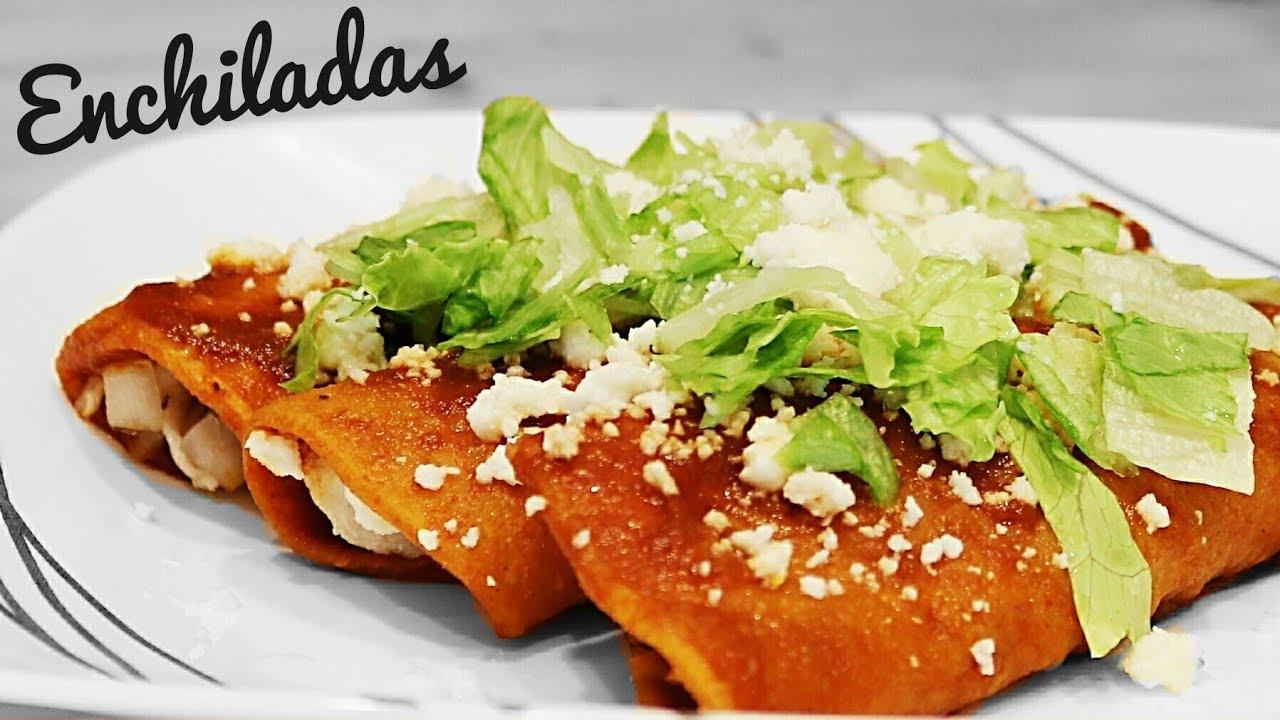 ENCHILADAS ROJAS | RECETAS MEXICANAS | SUSANA ORTIZ - YouTube