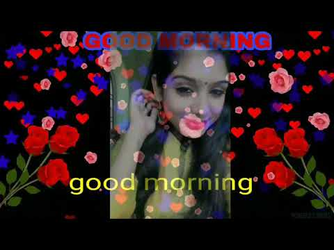 Good Morning💟Whatsapp💜 Video🌷Hindi Gana Status