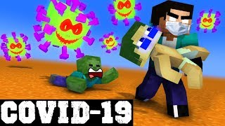 Mobs Fight Covid-19 Monsters! - Minecraft Animation