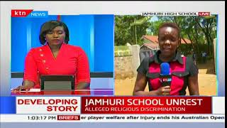 Jamhuri high school closed indefinitely following student unrest
