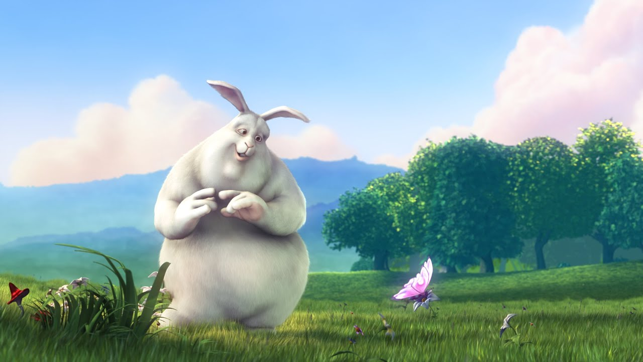 big bug bunny video