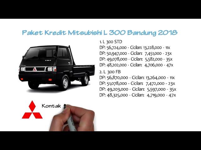 Kredit Mitsubishi Colt L300 Bandung Oktober 2018 | 0811229295