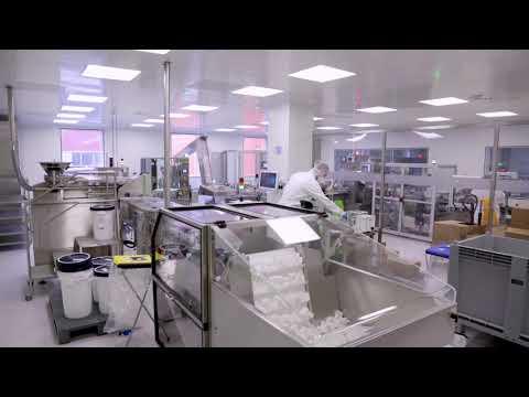 Servier's manufacturing plant in Warsaw - Poland