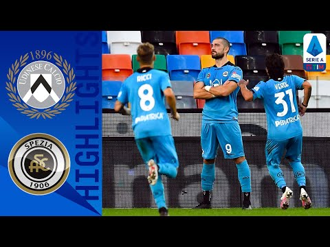 Udinese Spezia Goals And Highlights