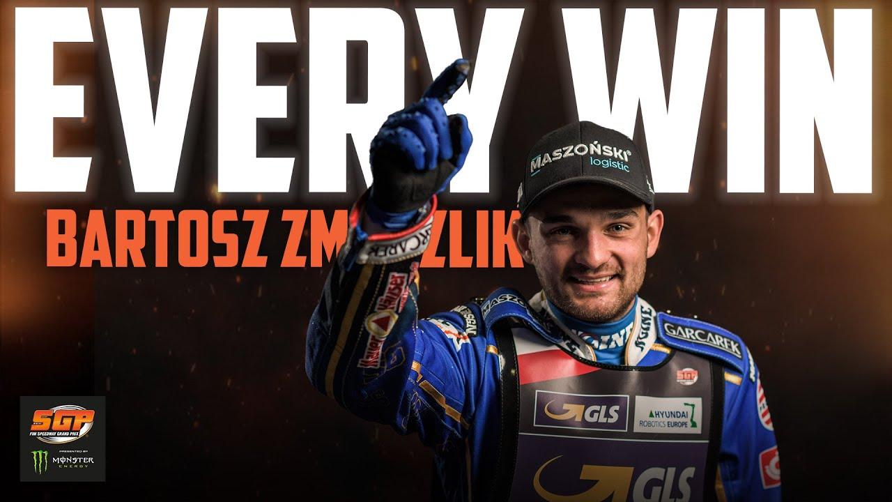 Every Bartosz Zmarzlik Win! | FIM Speedway Grand Prix