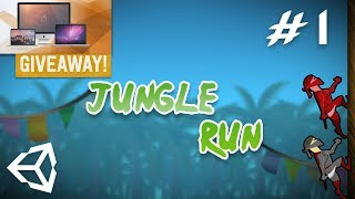 1 - Jungle Run Infinite Runner Game + Giveaway Competition - Importing Assets And Creating Main Menu