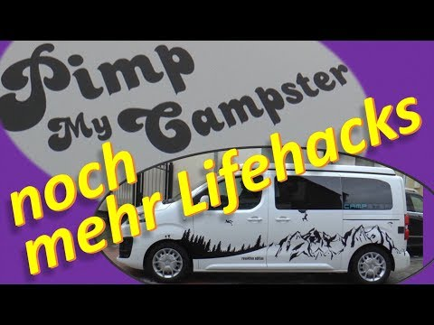 Pimp My Campster (#3) - ... noch mehr Lifehacks!