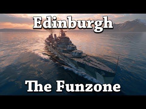 World of Warships: Edinburgh in the Funzone