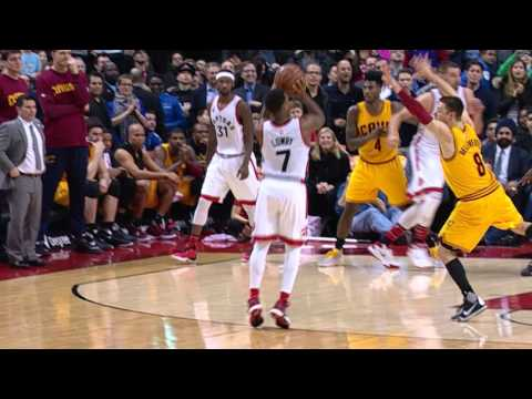 Kyle Lowry Hits the Game Winner vs Cleveland!