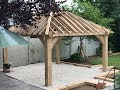 Building Raison Bois & Debits Oak Gazebo