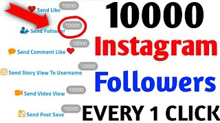 HOW TO GET 50K FOLLOWERS ONLY 1 CLICK || INSTAGRAM PAR UNLIMITED FOLLOWERS KAISE BADHAYE || LIVE