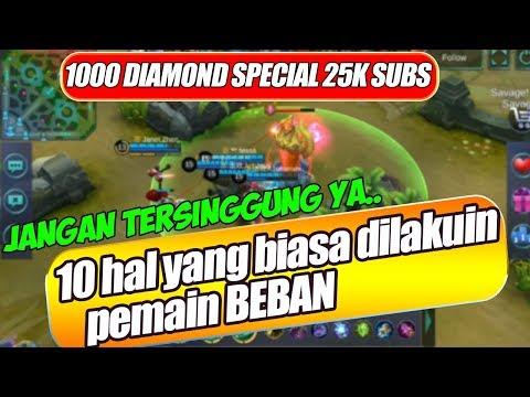 TURRET aja DITINGGALIN apalagi KAMUU..(GIVEAWAY 1000 DIAMONDS 25K SUBS) - Mobile Legends Indonesia